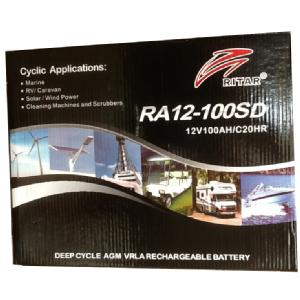 Battery - RV -  12v 100 AH AGM Battery Image