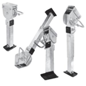 Caravan Legs - Adjustable - 605 mm Closed Image